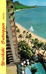 Hawaii Waikiki Beach The Outrigger Hotel