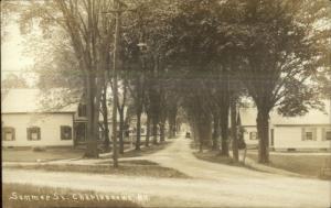 Charlestown NH Summer St. c1910 Real Photo Postcard
