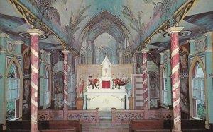 HONAUNAU, Kona, Hawaii, 1950-1960s; St. Benedict's Catholic Church, Altar