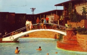 1963 SWIMMING AT THE JACK TAR HOTEL, GALVESTON, TX