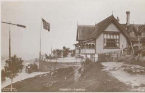 Floistuen Bergen Norway Vintage Real Photo Postcard