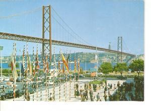 Postal 026629 : Ponte sobre o Tejo, Lisboa (Portugal)