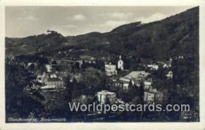 Steiermark Germany, Deutschland Postcard Gleichenberg Steiermark Gleichenberg