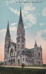 Pennsylvania Pittsburgh St Paul's Cathedral 1910
