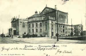 germany, MÜNCHEN-BOGENHAUSEN, Prinz-Regenten-Theater (1902)