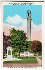 MA - Provincetown. Pilgrim Monument