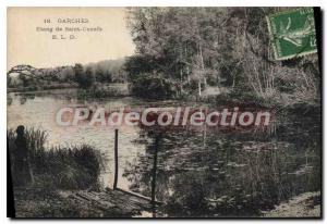 Postcard Old Pond Garches Saint Cuoufa