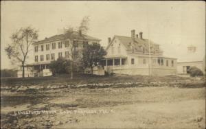 Cape Porpoise ME Langsford House c1910 Real Photo Postcard