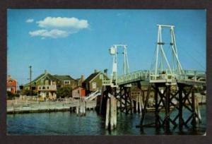 ME Walking Bridge Harbor Perkins Cove OGUNQUIT MAINE PC