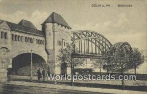 Coln a Rh Germany, Deutschland Postcard Sudbrucke Coln a Rh Sudbrucke