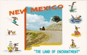 New Mexico Land Of Enchantment