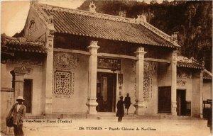 CPA AK INDOCHINA Tonkin Pagode Chinoise de Na-Cham VIETNAM (957616)