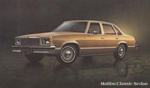 1978 Malibou Classic Sedan