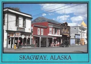 USA Skagway Alaska Gateway to the Klondike Saloon Vintage Car