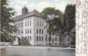 Crosby High School - Waterbury CT, Connecticut - pm 1906 - UDB