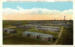 Michigan Mt Clemens Barracks At Selfridge Aviation Field