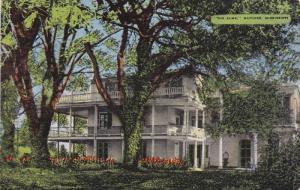 NATCHEZ, Mississippi, 1930-1940's; The Elms