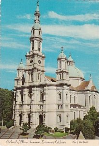Cathedral Of Blessed Sacrament Sacramento California