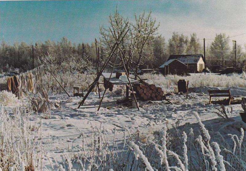 Smoke House , N.W.T. , Canada , 50-60s