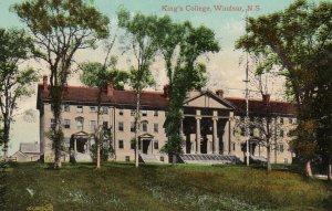 WINDSOR , Nova Scotia , Canada , 1900-10s ; King's College