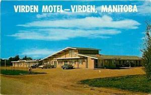 Canada, Manitoba, Virden, Virden Motel, Dexter Color 4630-C