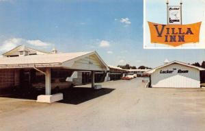 Springfield Missouri~Villa Inn on Rte 66~Locker Room~Carport~Filtered Pool 1970s