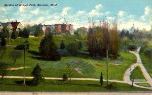 Tacoma, Washington - A section of Wright Park - in 1912