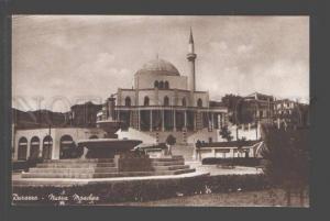 096802 ALBANIA Durarra Nuova Moschea Vintage PC