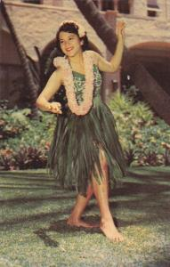 Graceful Island Dancer , Hawaii , 1950-60s