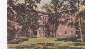 Exterior,  West College Dormitory for men,  Bucknell University,  Lewisburg, ...