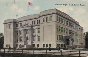 Massachusetts Lynn Classical High School 1912