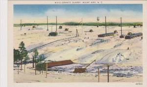 North Carolina Mount Airy Granite Quarry