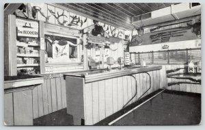 Long Lake Minnesota~Buck Horn Souvenir Bar Room~Roadside Diner Interior~1950s