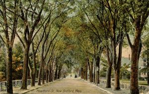 MA - New Bedford. Hawthorn Street circa 1900