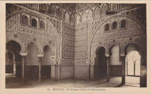 RP; SEVILLA, El Alcazar: SAlon de Embajadores, Andalucia, Spain, 10-20s