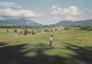 KITIMAT , British Columbia, 1950-60s ; Golf Course
