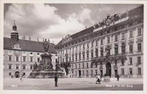 Austria Vienna In der Burg Real Photo