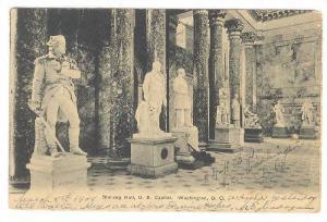 Statuary Hall, U.S. Capitol, Washington, D.C., PU-1908
