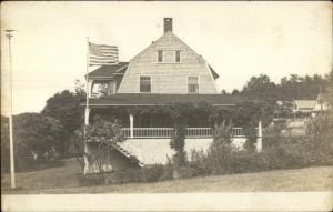 Home & American - Looks Like Connecticut or Rhode Island Shore c1910 RPPC