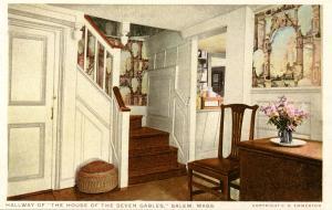 MA - Salem. House of Seven Gables. Hallway
