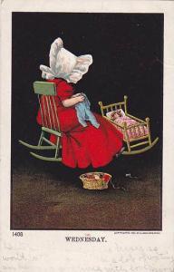 Sun Bonnet Girl , WEDNESDAY ,00-10s , Sewing