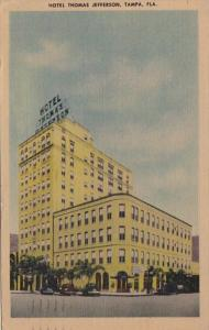Florida Tampa Hotel Thomas Jefferson 1947