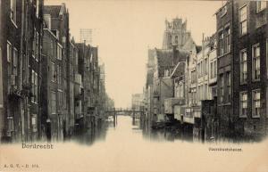 DORDRECHT, Voorstraatshavn, South Holland, Netherlands, 1890s