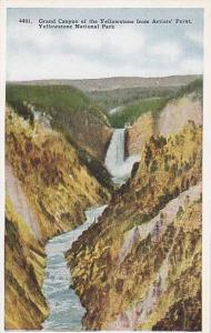 Grand Canyon of the Yellowstone from Artists' Point, Yellowstone National Par...
