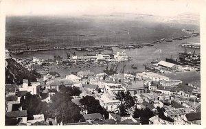 Vue Generale du Port Oran Algeria 1943