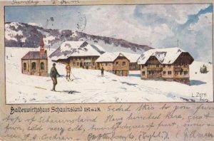 Haldenwirthshaus Schauinsland , Germany , 1899