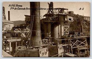 Tremp Catalonia~Cemento Seccion de Calderas~Rock Crushing Cement Plant RPPC 1915