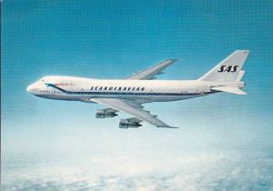 SAS Boeing 747-B jet airplane , 1960-70s