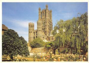 uk5203 west tower ely cathedral cambridge uk