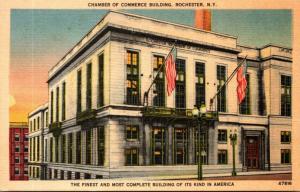 New York Rochester Chamber Of Commerce Building